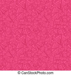 Red seamless triangle pattern background