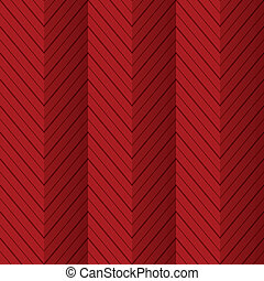 Red seamless zigzag folded
