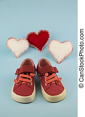 red shoes for little girl