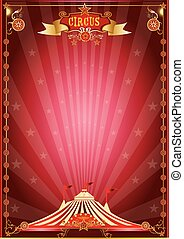 red show circus poster - A circus poster for your circus...