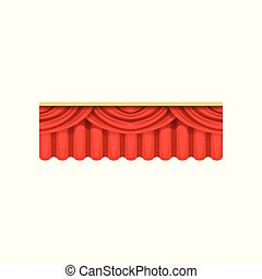 Wedding stage decor stock illustration images 50 wedding stage red silk or velvet pelmets for theater stage cartoon junglespirit Images