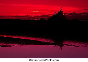 Red Sky Shelter
