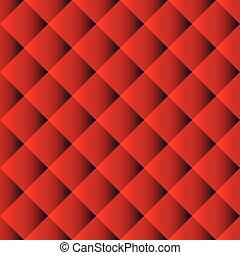 Red Sofa seamless pattern