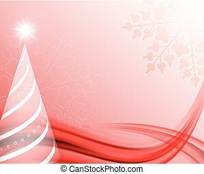 red, soft christmas background