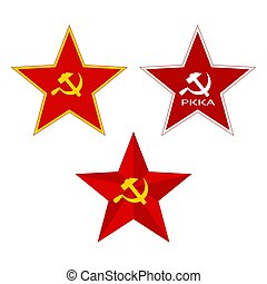 Red Soviet Star