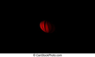 Red Sphere Motion Background