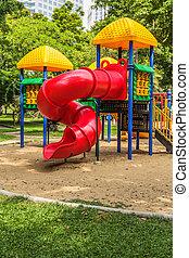 Playground in Park for Children