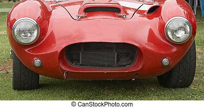 Red Sporst Car