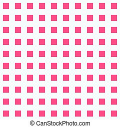 Red Square dot pattern background vector illustration