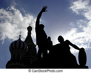 Red Square - The cathedral was built between 1555 and 1561 ...