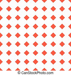 red squares on a white background seamless pattern