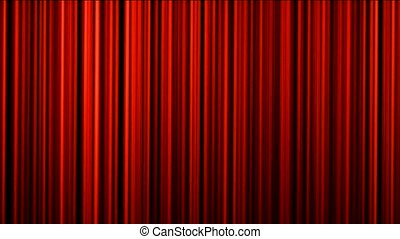 red stage curtain, theater curtain, vertical lines background.