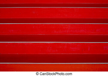 Red stairs abstract - Abstract of red stairs in the Hijmans...