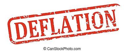 Red stamp deflation