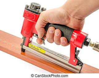 stapler - red stapler pneumatic hand tool