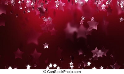Red Stars Abstract Art Award Backgrounds Blizzard Blurred...