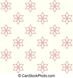 red stars on white background