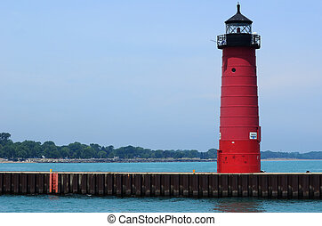 Red Steel Lighthouse