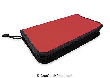 Red storage bag