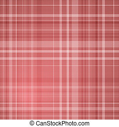 Red striped background.