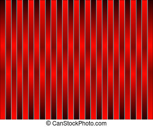 Abstract background pattern of vertical red stripes