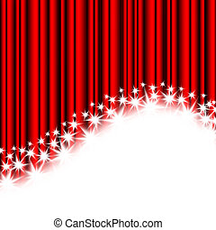 red stripes and stars on a white background