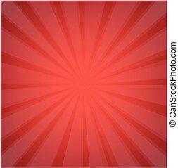 Red Sunburst