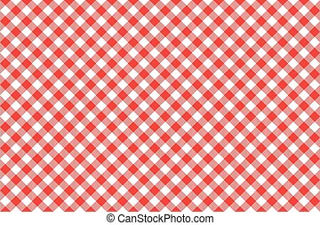 red tablecloth diagonal background seamless pattern - Red...
