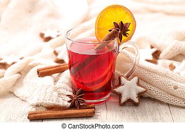 red tea for christmas