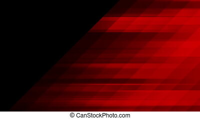 Red tech minimal geometric abstract motion background - Dark...