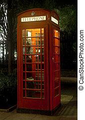 Red Telephone Box - London