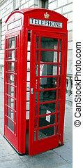 Red Telephone Box, London