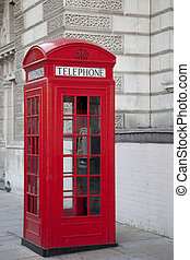 Red Telephone Box; London, UK