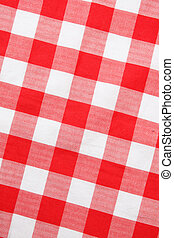 Red textile Gingham