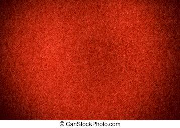 Red Textured Grunge Background