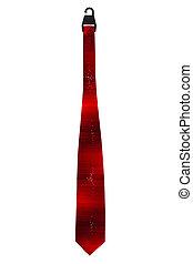 red tie
