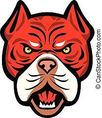 Red-Tiger-Bulldog-frnt-MASCOT