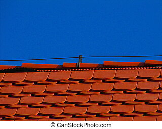 Red Tile and lightning protection