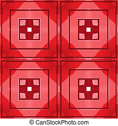 red tile seamless pattern
