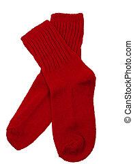 Red Toddler Socks