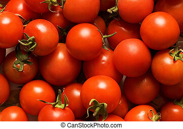 Red tomatoes - can be used as background
