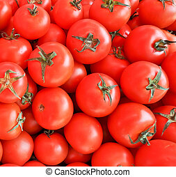 red tomatoes in a box