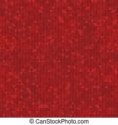 Red triangle seamless pattern.