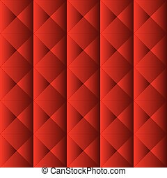 Red upholstery pattern. Color bright decorative background...