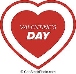 Valentine day heart