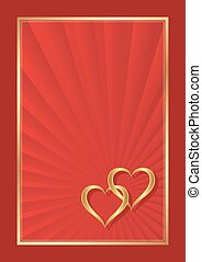 valentines background - red valentines background with two...