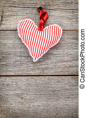 Red Valentine's day heart toy