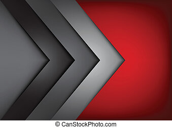 red vector background overlap dimension