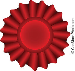 Red Vector Label