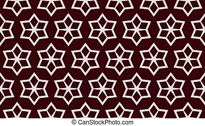 Red. Vector luxury abstract background. Vector seamless pattern